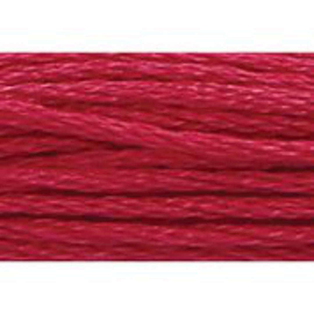 Stranded Cotton Cross Stitch Thread - Red Shades image 26