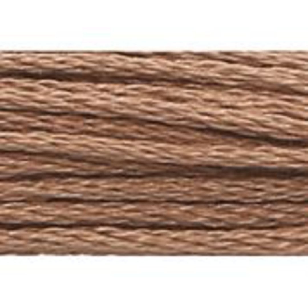 Stranded Cotton Cross Stitch Threads - Brown  Shades image 3