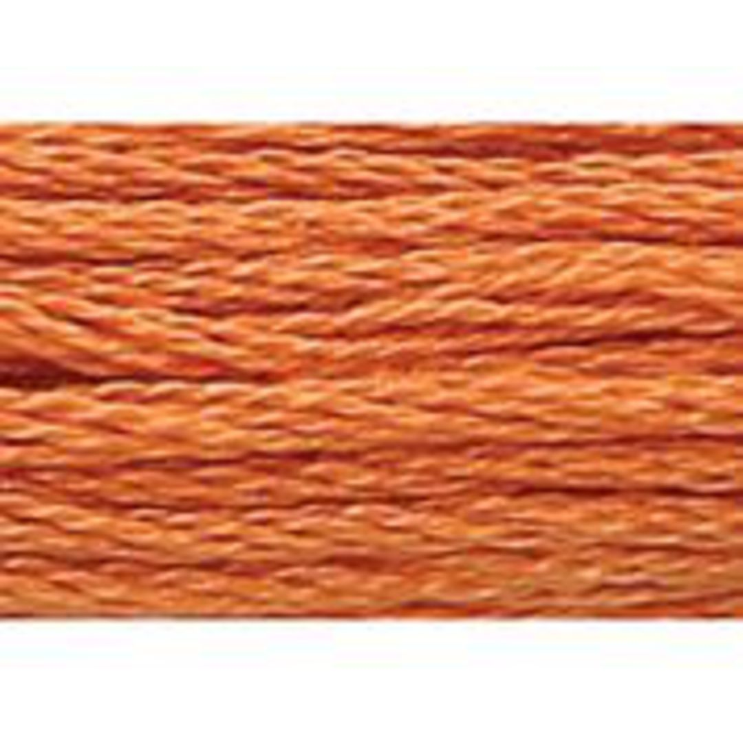 Stranded Cotton Cross Stitch Threads - Orange Shades image 7