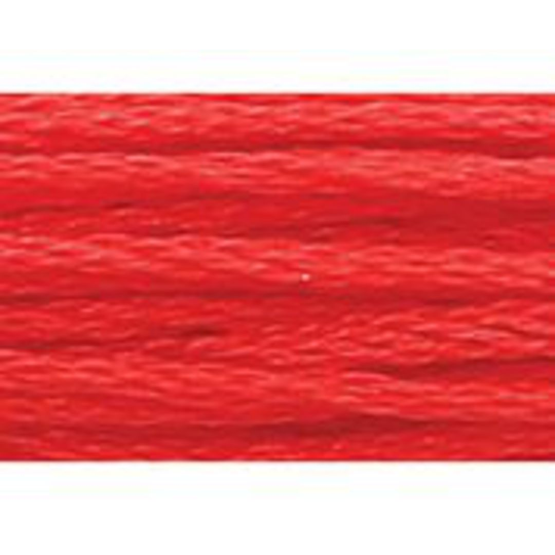 Stranded Cotton Cross Stitch Thread - Red Shades image 3