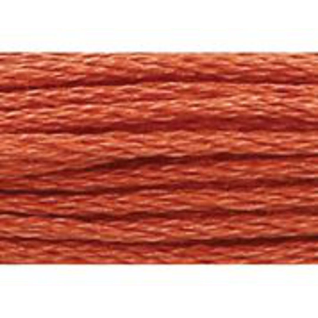 Stranded Cotton Cross Stitch Threads - Orange Shades image 21