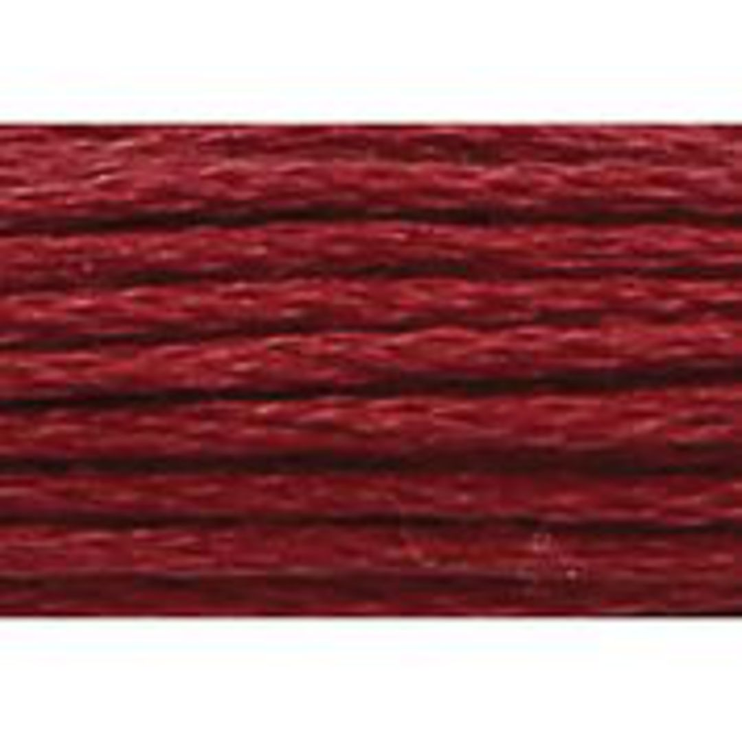 Stranded Cotton Cross Stitch Thread - Red Shades image 11
