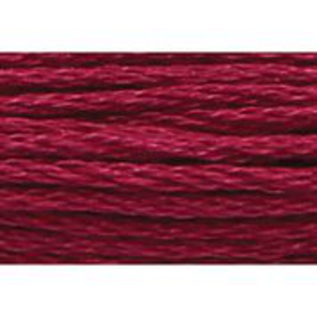 Stranded Cotton Cross Stitch Thread - Red Shades image 5