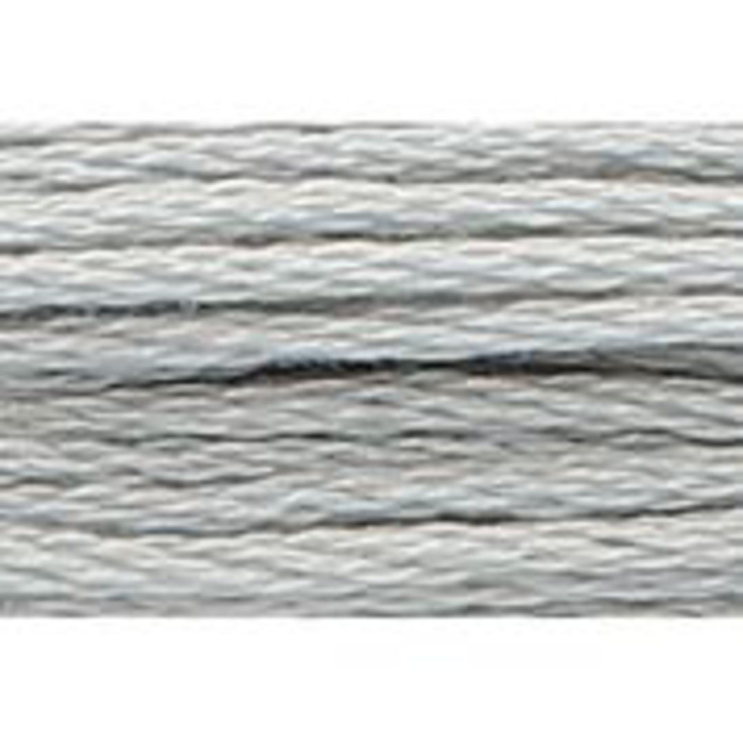 Stranded Cotton Cross Stitch Threads - Greys Shades image 5