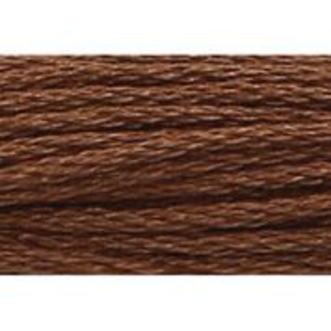 Stranded Cotton Cross Stitch Threads - Brown  Shades image 5