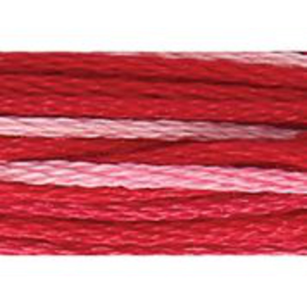 Stranded Cotton Cross Stitch Threads - Pinks Shades image 2