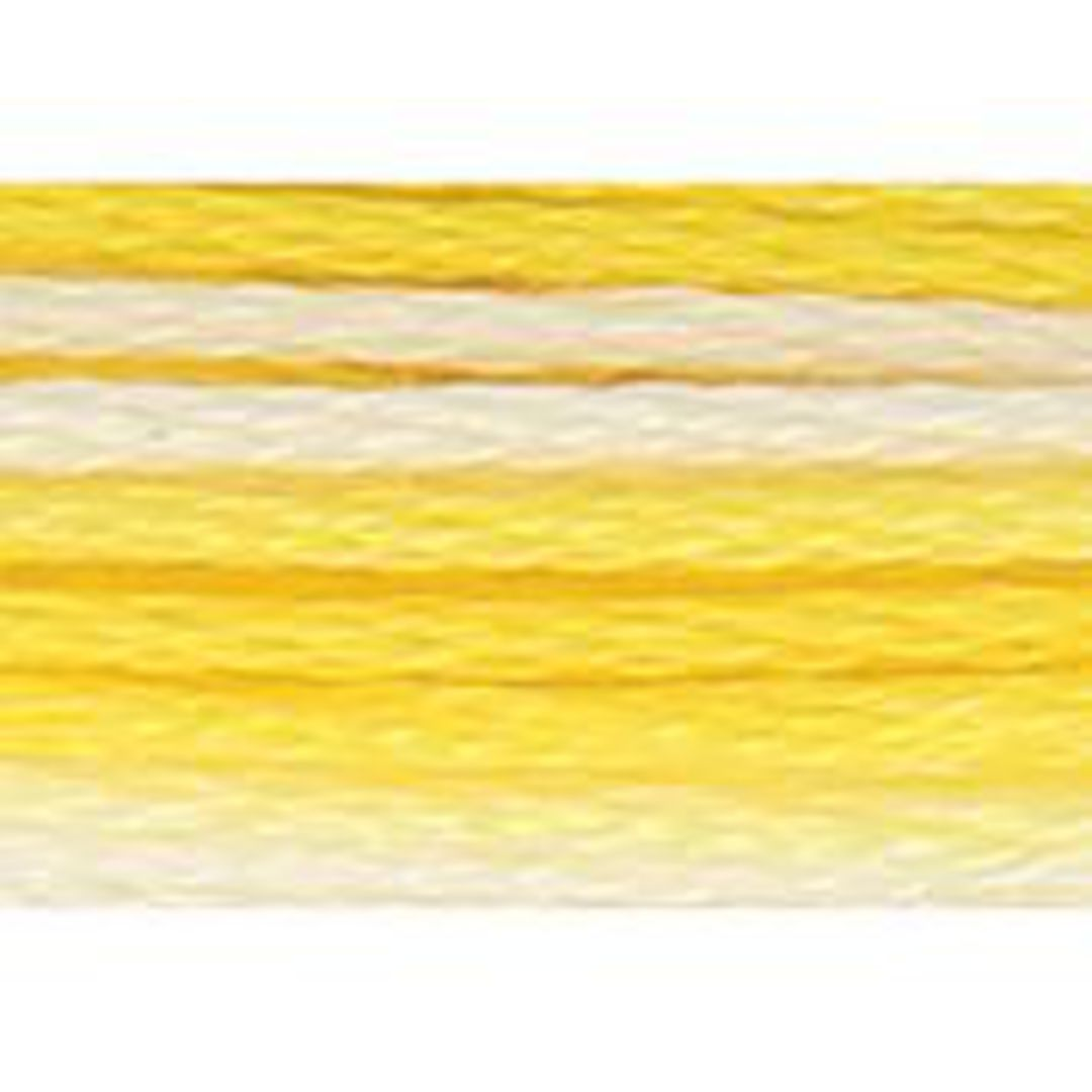 Stranded Cotton Cross Stitch Threads - Yellow Shades image 1