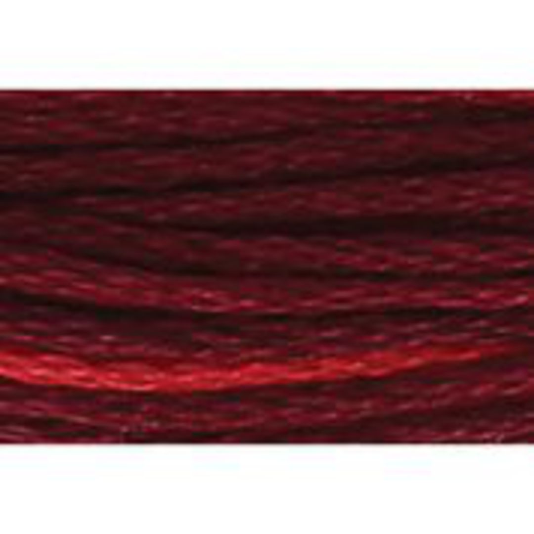 Stranded Cotton Cross Stitch Thread - Red Shades image 2