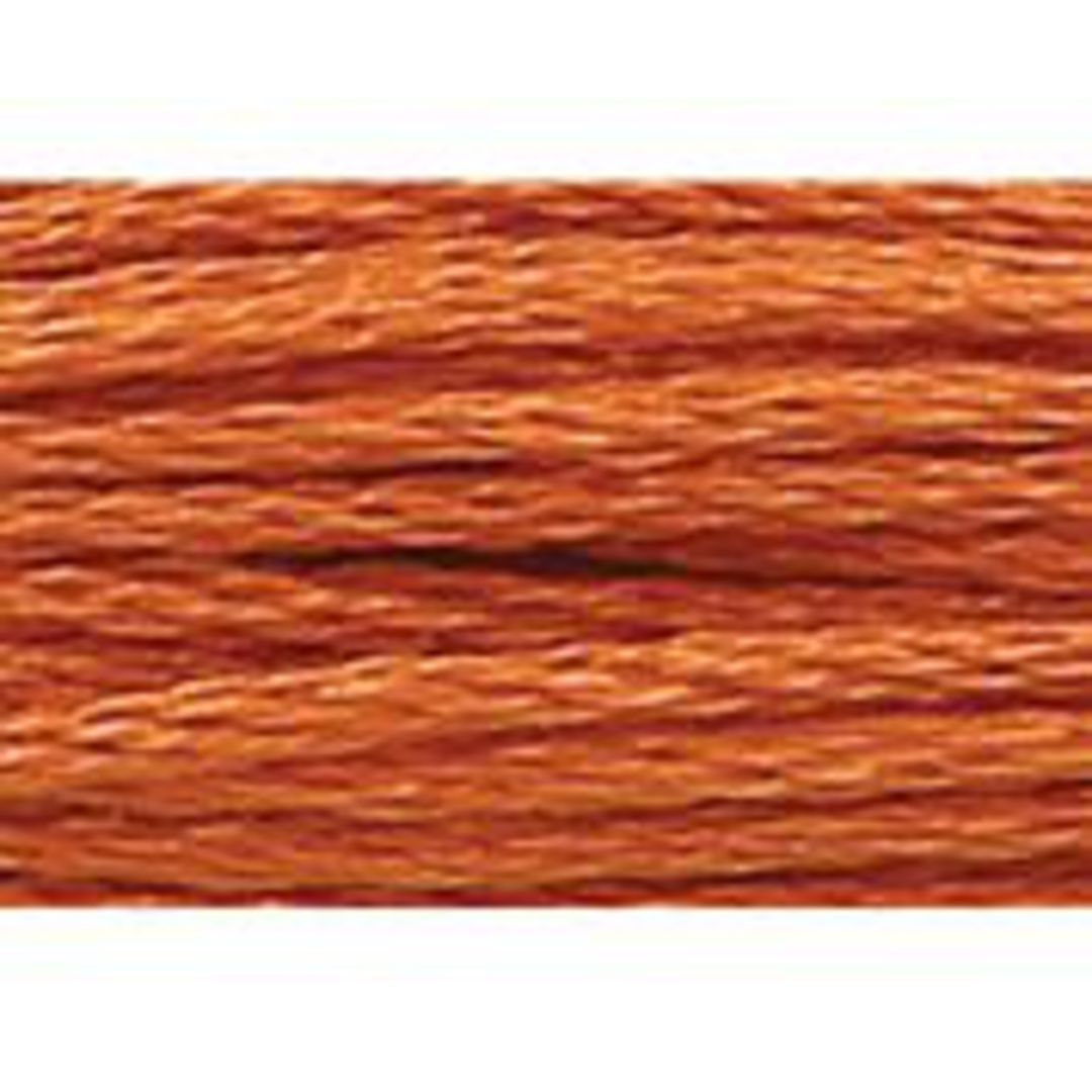 Stranded Cotton Cross Stitch Threads - Orange Shades image 6
