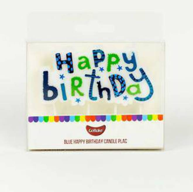 Happy Birthday Candle Plaque image 0