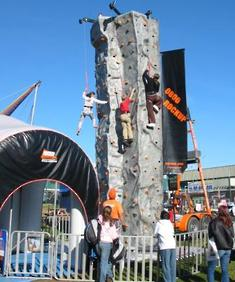 Rockclimbing Wall for Events