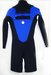 Max 3/2 ZB FL L/S Spring Custom Mix: Black/Blue - Seventhwave Wetsuits Custom-Fit
