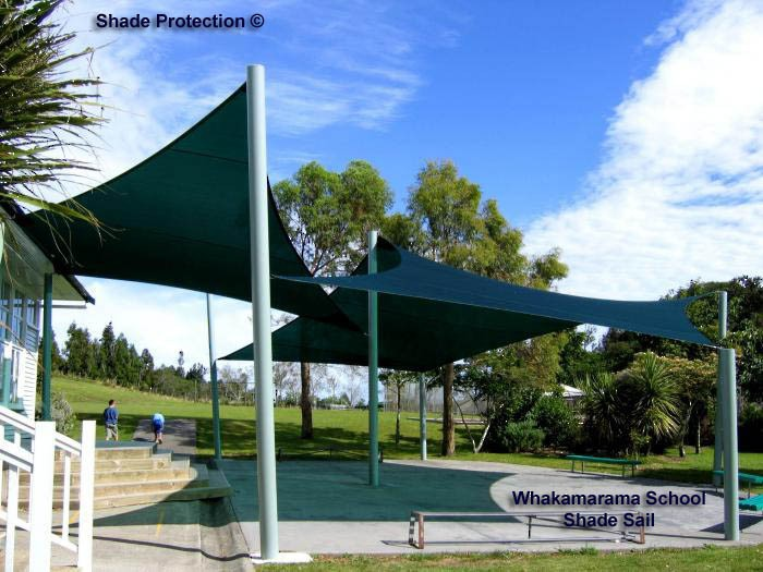 Whakamarama School Shade Sails