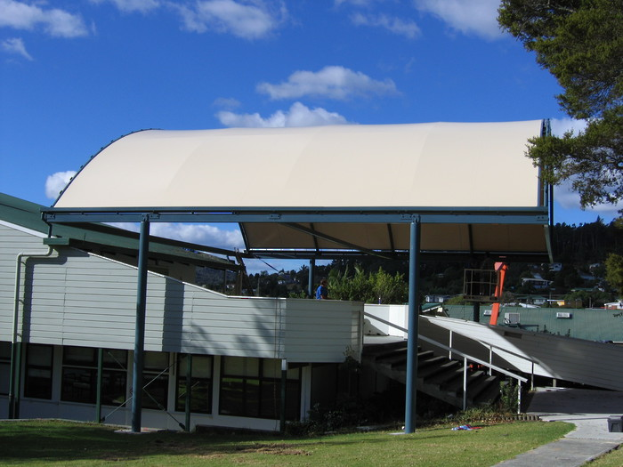 Shade Sails and Covered Walkways NZ