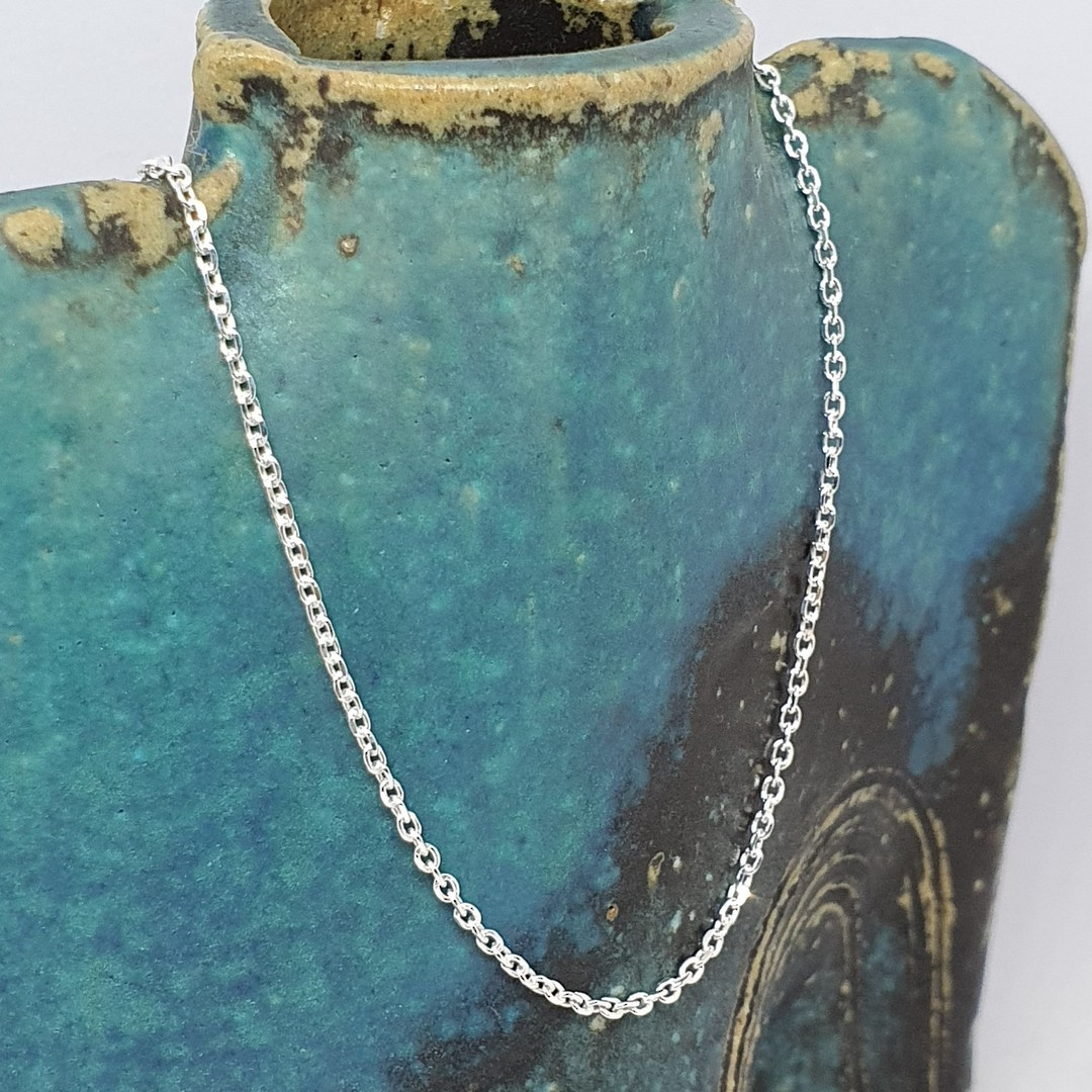 Sterling silver chain, 50cms image 2