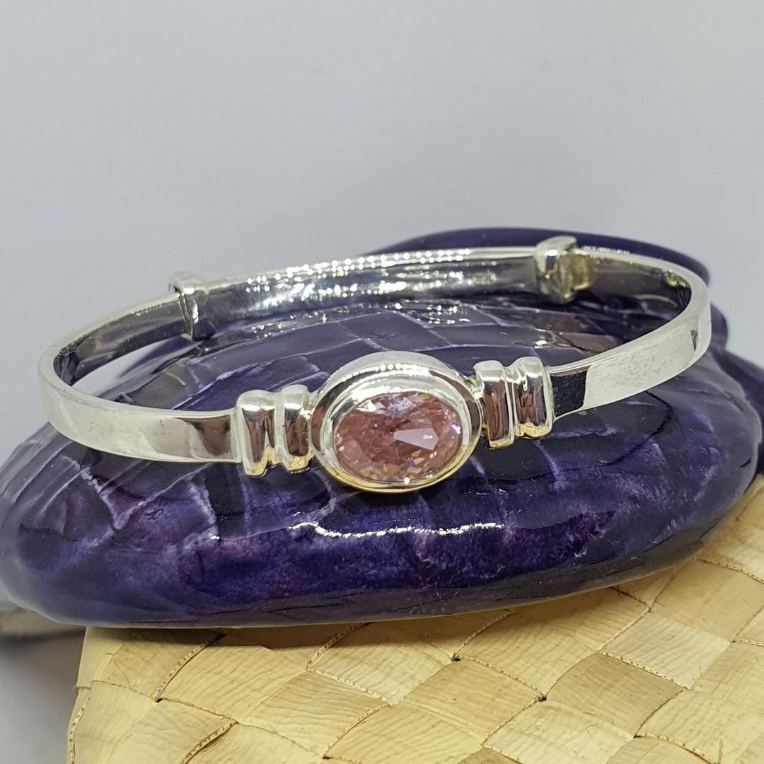 Happy Birthday Miss October - birthstone baby bracelet image 2