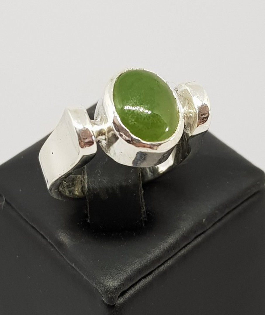 NZ Greenstone ring image 0