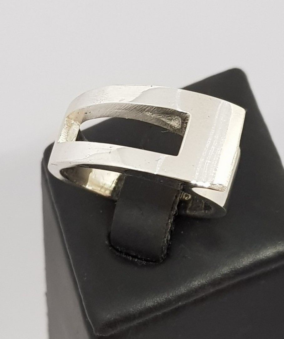 Solid Sterling Silver Ring | Made in NZ image 3