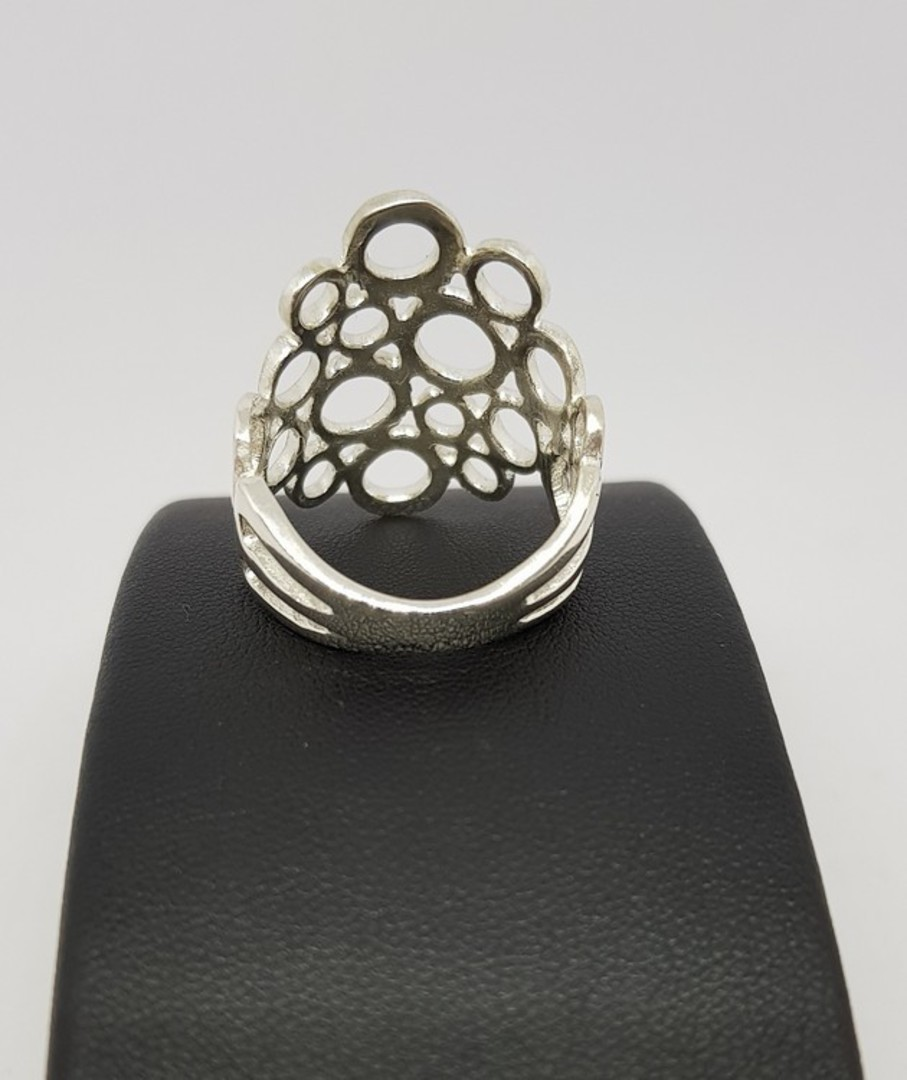 Sterling Silver Ring | Excellent middle finger ring image 2