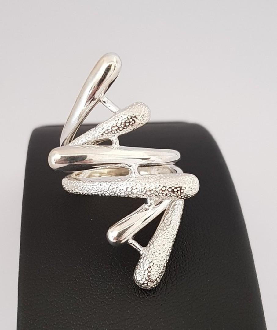 Sterling silver designer ring image 0