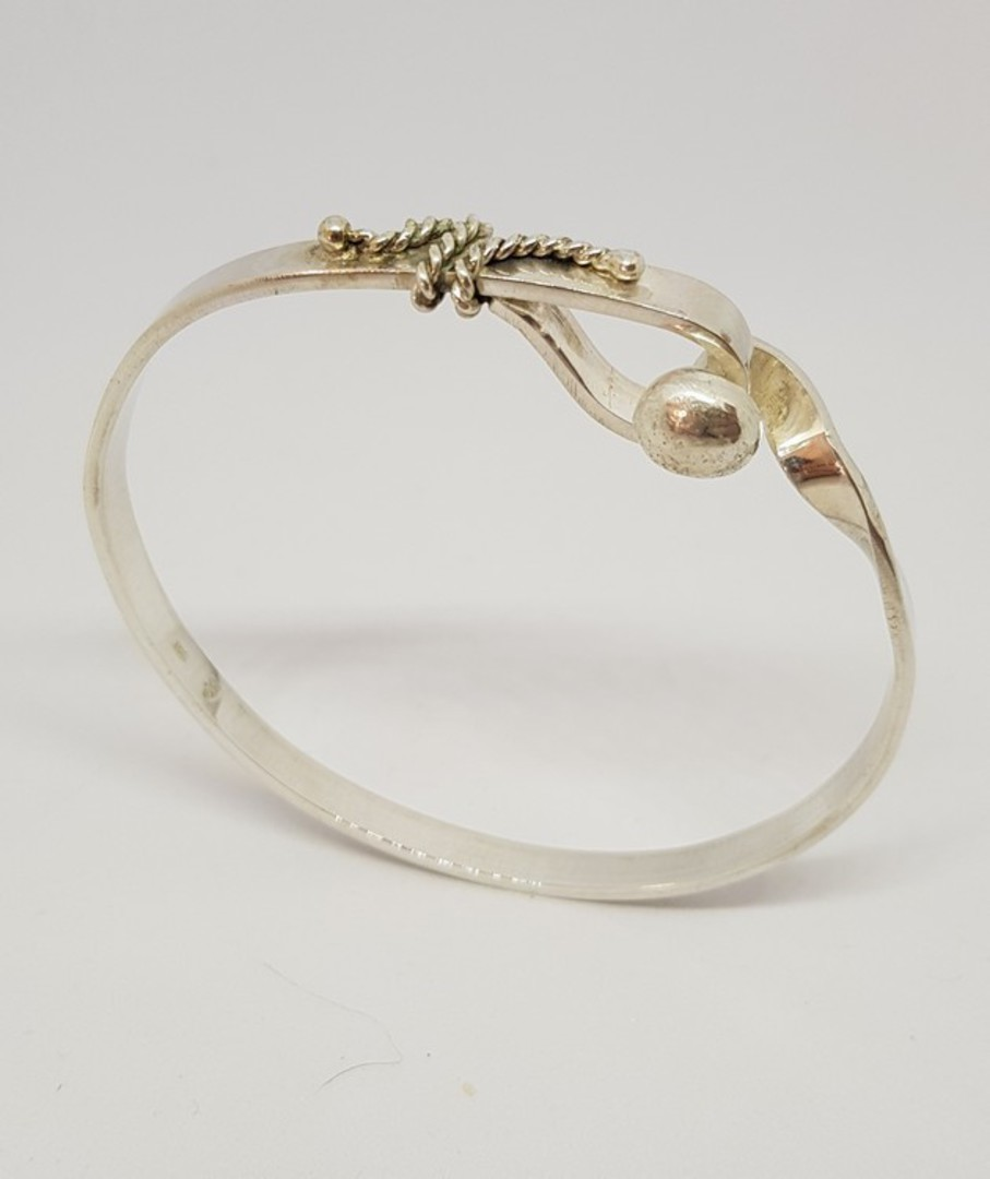 Sterling Silver Bangle image 5