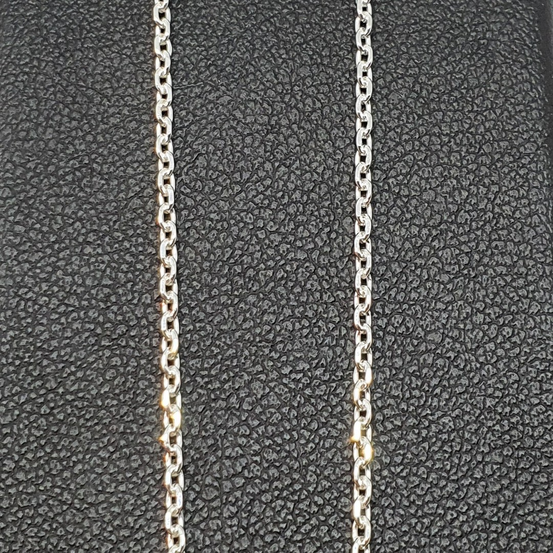 Sterling silver chain, 50cms image 1