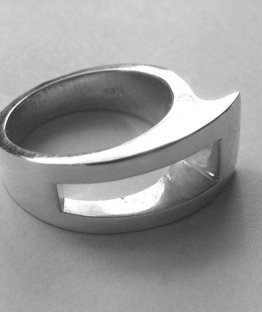 Solid Sterling Silver Ring | Made in NZ image 2