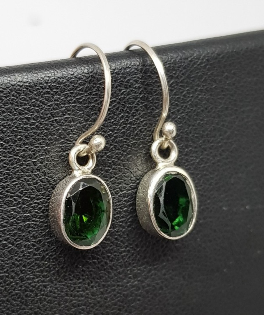 Green Quartz Earrings image 2