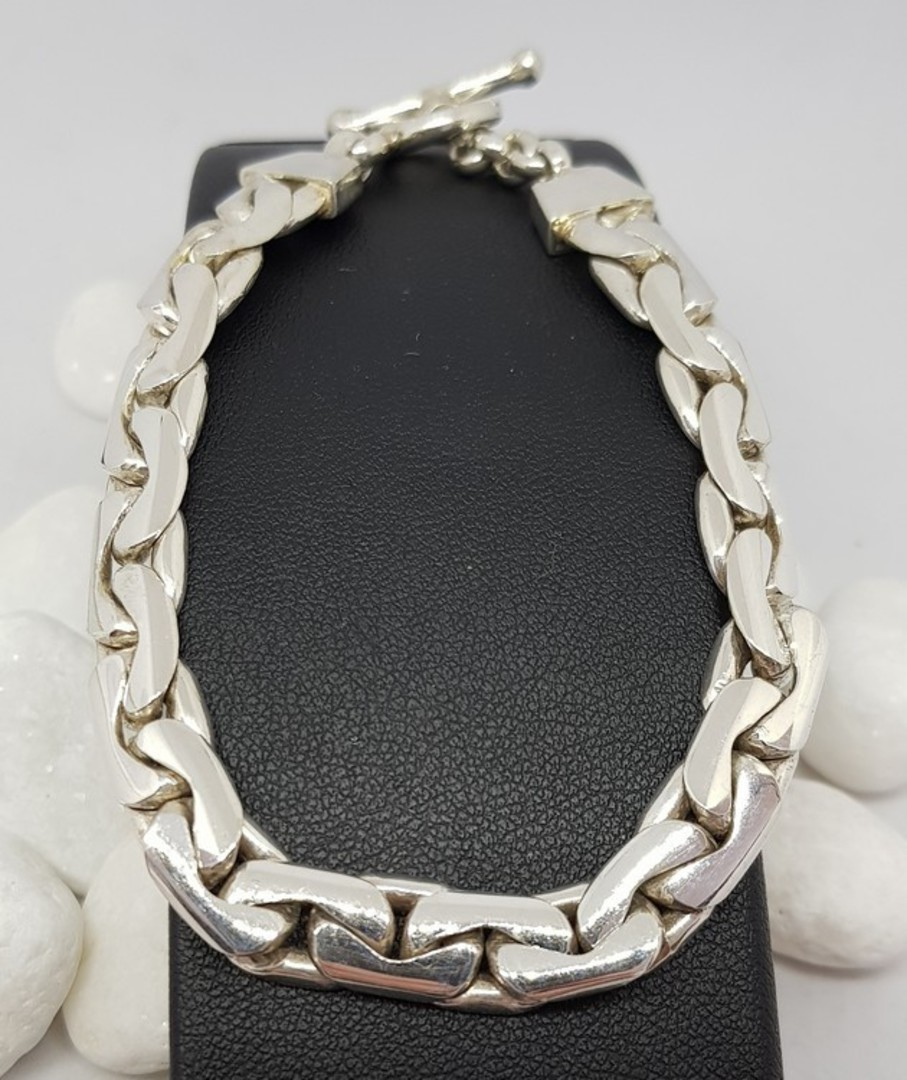 Sterling silver chain bracelet image 3