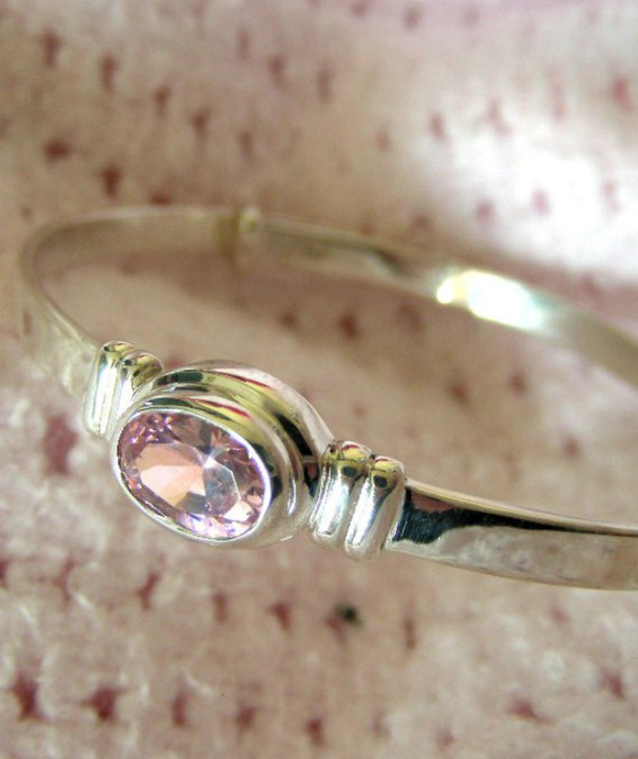 Happy Birthday Miss October - birthstone baby bracelet image 3