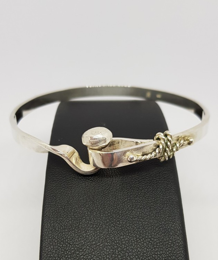 Sterling Silver Bangle image 0