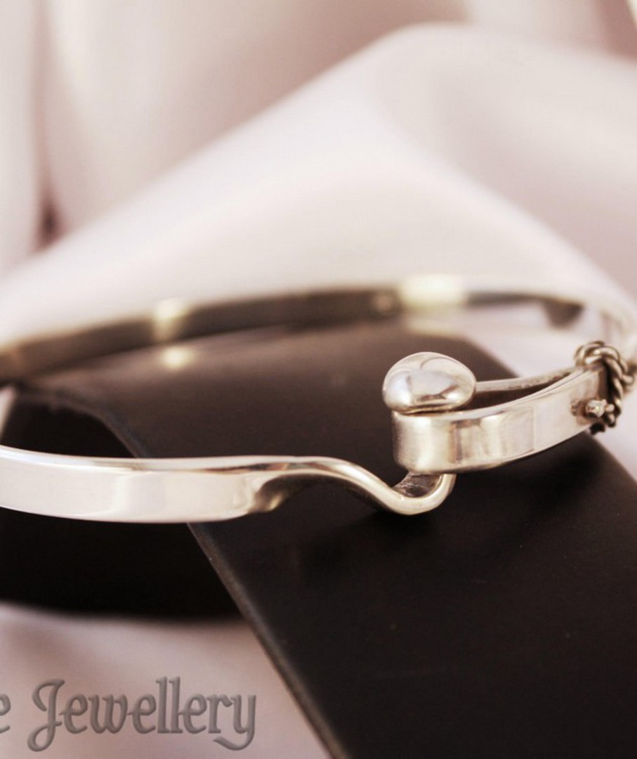 Sterling Silver Bangle image 1