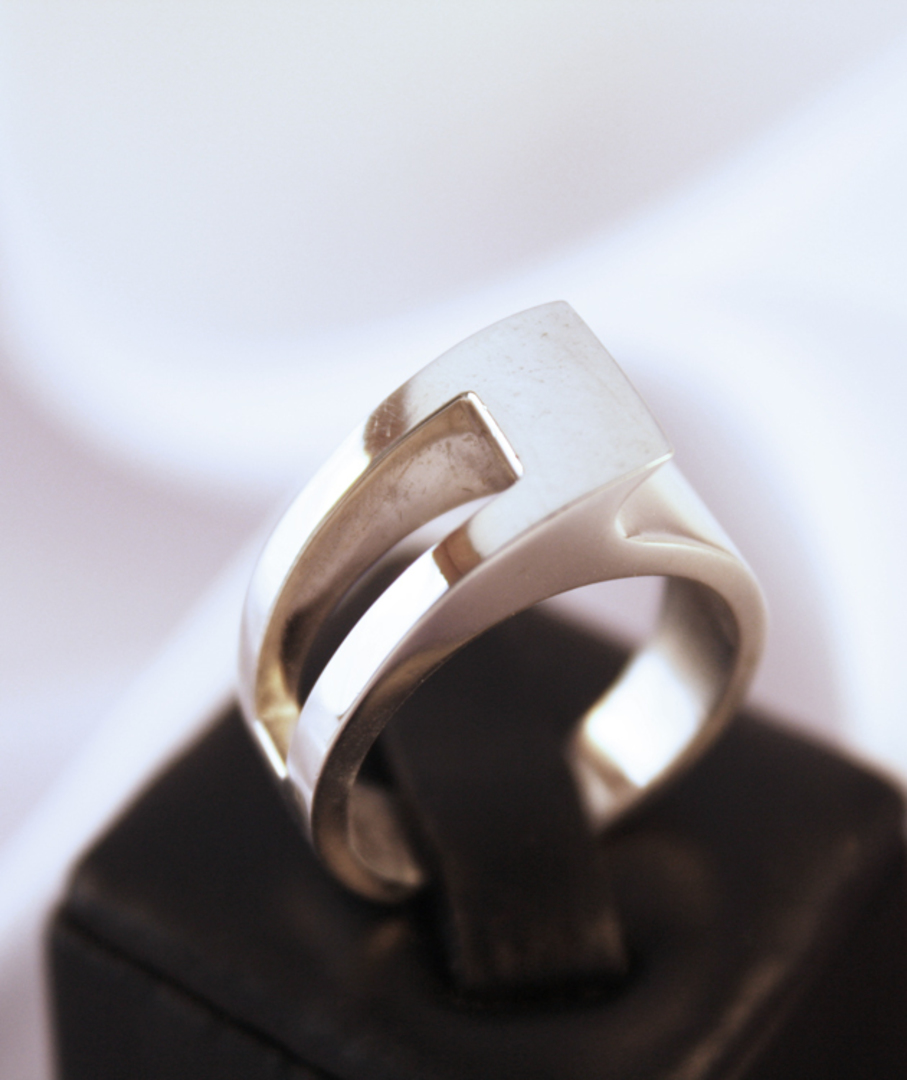 Solid Sterling Silver Ring | Made in NZ image 1