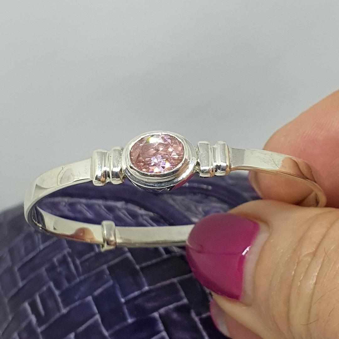 Happy Birthday Miss October - birthstone baby bracelet image 1
