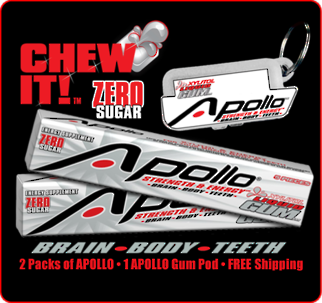 Apollo Strength & Energy Gum