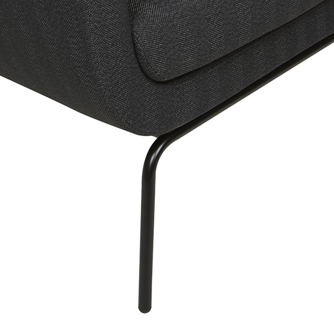 Juno Tub Metal Leg Occasional Chair image 4