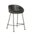 Click to swap image: <strong>Duke Barstool - Vintage Black - RRP-$731</strong></br>Dimensions: W540 x D530 x H880mm</br>Shipped: K/D - Requires Assembly on site - 0.174m3</br>Footrest Height - 220mm</br>Leg Colour - Matt Black</br>Leg Finish - Powdercoated</br>Leg Material - Metal</br>Seat Height - 650mm</br>Upholstery Colour - Vintage Black</br>Upholstery Composition - PU