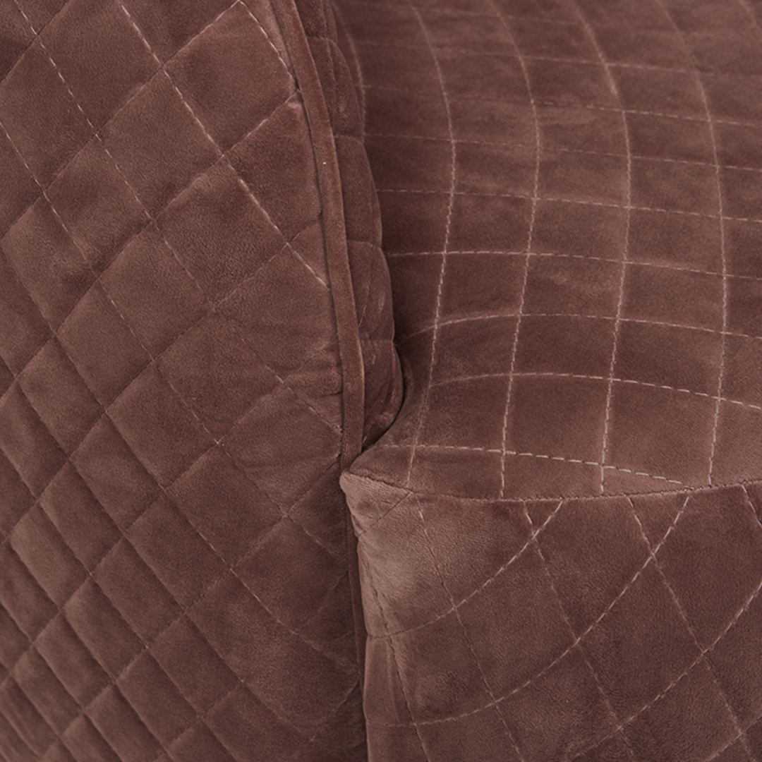 Penelope Quilted Swivel Occasional Chair image 4