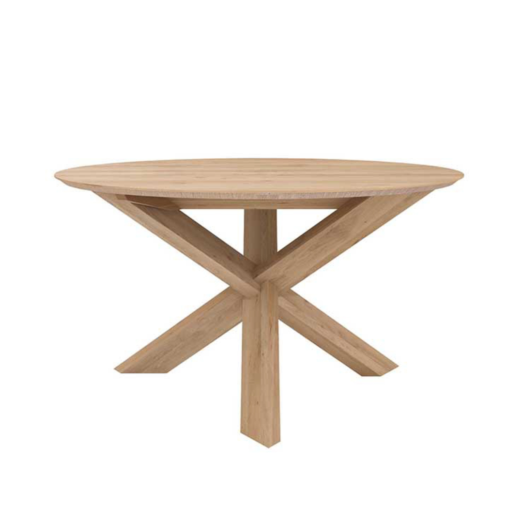 Ethnicraft Circle Dining Tables image 0