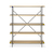 Click to swap image: <strong>Ethnicraft Rise Bookcase-Ok/Bk </strong></br>Shelf Colour - Natural</br>Frame Colour - Black</br>Frame Finish - Powdercoated</br>Frame Material - Metal</br>Shelf Material - Oak