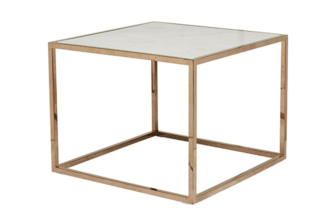 Elle Cube Marble Side Table image 3
