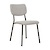 Click to swap image: <strong>Tommy Dining Chair-Winter Grey - RRP-$547</strong></br>Dimensions: W470 x D530x H810mm</br>Shipped: K/D - Requires Assembly on site - 0.136m3</br>Leg Colour - Matt Black</br>Leg Finish - Powdercoated</br>Leg Material - Metal</br>Seat Height - 470mm</br>Upholstery Colour - Winter Grey</br>Upholstery Composition - Fabric (100% Polyester)
