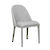 Click to swap image: <strong>Millie Dining Ch - Cool Grey - RRP-$619</strong></br>Dimensions: W480 x D590 x H825mm</br>Shipped: Assembled - 0.216m3</br>Chair Max. Weight - 120kg</br>Chair Stackable - No</br>Frame Material - Metal</br>Seat Configuration - 490mm seat height</br>Upholstery Colour - Cool Grey</br>Upholstery Material - Fabric (100% Polyester)