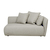 Click to swap image: <strong>Felix Pebble 2 Str Rit-Biscuit - RRP-$3465</strong></br>Dimensions: W1620 x D950 x H670mm</br>Shipped: Assembled - 1.176m3</br>Cushion Construction - Sofa Cushion Profile - Medium</br>Filling Material - Feather and Foam Filling</br>Seat Height - 350mm</br>Upholstery Colour - Biscuit Tweed</br>Upholstery Composition - Fabric (100% Polyester)</br>Upholstery Construction - Removable Upholstery Cover