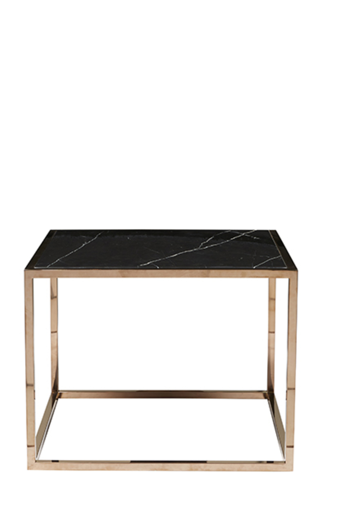 Elle Cube Marble Side Table image 4
