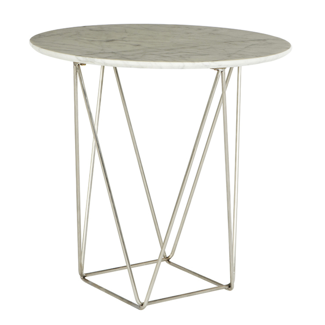 Como Side Table Large Marble image 1