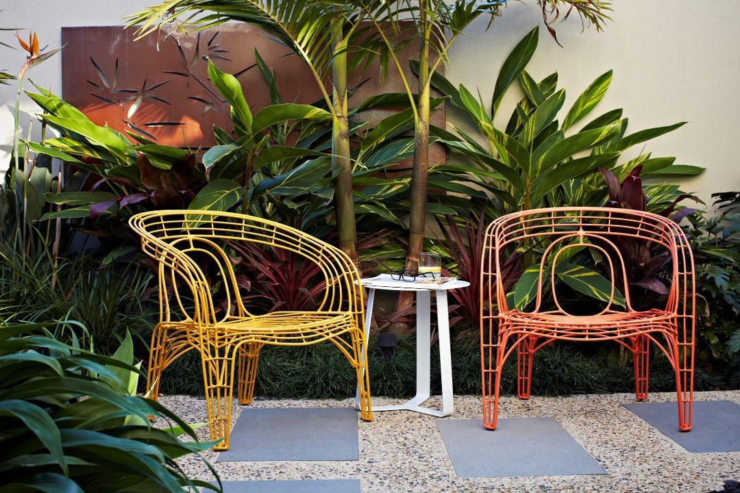 Cancun Ali Round Side Tables  ( Outdoor) image 1