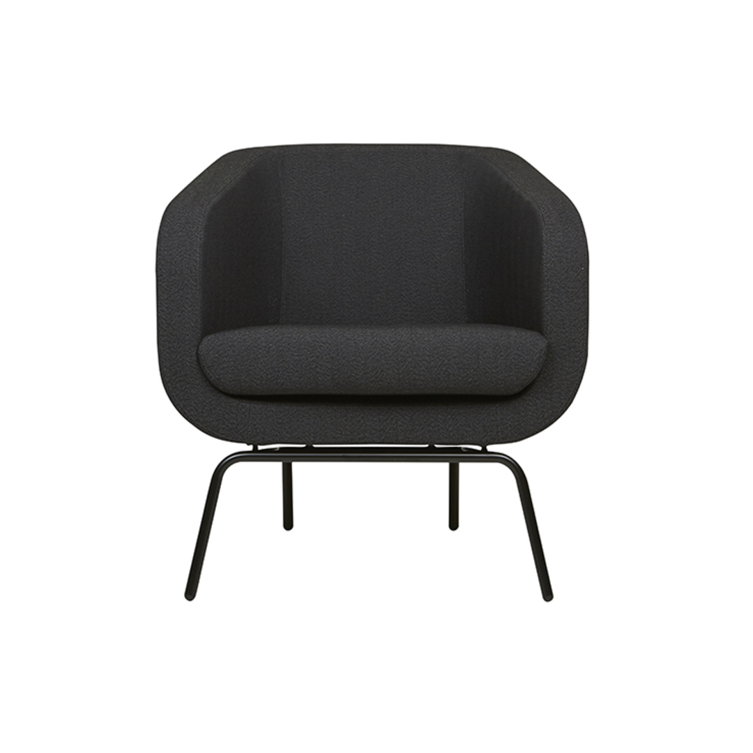 Juno Tub Metal Leg Occasional Chair image 0