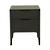 Click to swap image: <strong>Luca 2 Drawer Bedside-Black Oak - RRP-$1550</strong></br>Drawer Configuration - 2</br>Case Material - Oak Veneer</br>Case Colour - Black Oak</br>Drawer Finish - Soft Close
