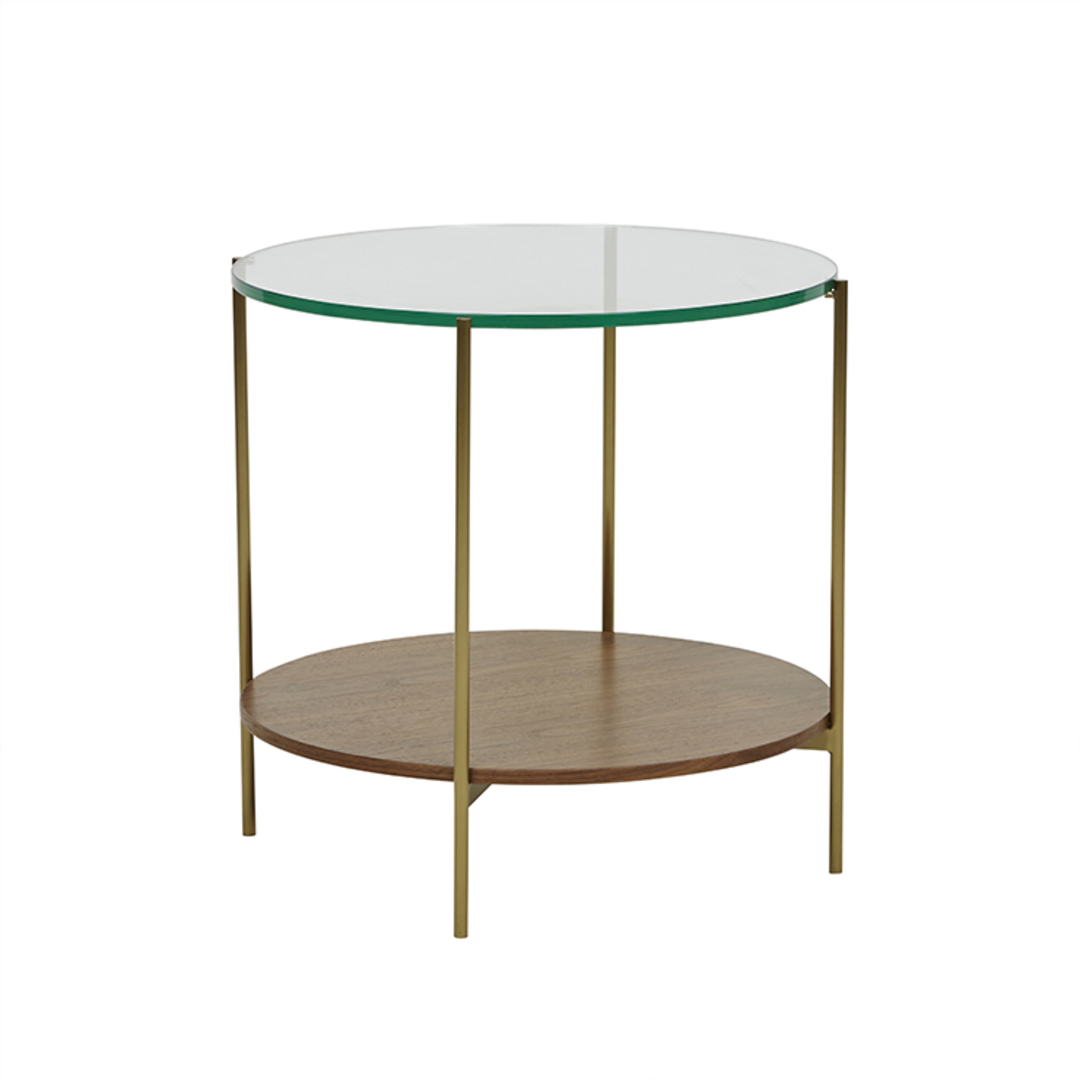 Clermont Layer Marble Side Table image 2